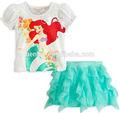 Ariel traje dos desenhos animados fancy dress personagens