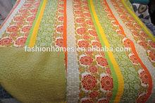 Modern branded bed sheet sets/ flower design bed sheet