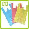Yiwu China wholesale colored cheap t-shirt plastic bag