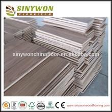 UV Coating 120mm Multi-layer American Walnut Hardwood Flooring