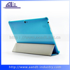 Custom Blue Color High Quality PU Flip Tablet Cover For Huawei Mediapad 10