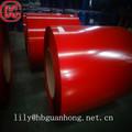 Astm 653 bajo anti- el dumping deber guanzhou color rojo ppgi de acero en bobinas precio