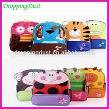 SB017 2014 new quality goods cute kids school bags cartoon kids bag