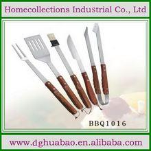 Stainless steel flat bamboo food sticks