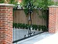 fabricante de hierro ornamentales puertas