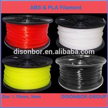 1.75mm ABS 3D Printer Filament ABS filament PLA filament 1.75mm 3mm 28 colors 1kg 0.5kg 2kg 5kg /spool, reels