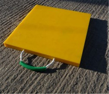 hdpe light duty mats/HDPE Outrigger Pads/hdpe composite mats system hdpe temporary roadways
