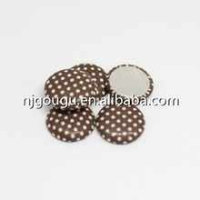 dots diy magnetic button fabric covered button supplies