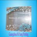Caixa de plástico pvc/de acetato transparente caixa de presente/logotipo personalizado de impressão de embalagens