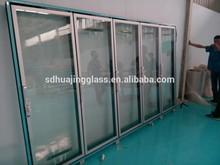 walk in freezer glass door for beer bar / supermarket/ wine cellar