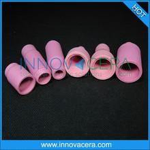 Alumina ceramic/industry ceramic nozzle/for tig welding torch/innovacera