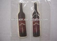wine bottle car paper air freshener