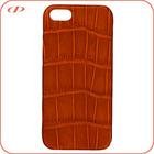 Designer genuine crocodile leather case for iphone 5S