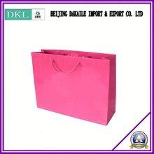 20 year experience & perfect printing brand luxury food Shopping bag With hadle shpoping bag green and enviromental bag