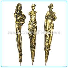 Custom Resin Promotional European Venus Figure Decorative Ballpoint Pen