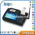 telpo андроид точки продаж устройства металла клавиатура с матрицей tps550
