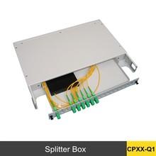 splitter terminal box outdoor fiber optic splitter box electrical steel sheet