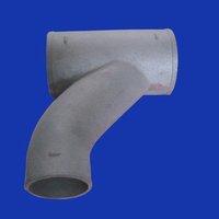 chinese aluminium alloy tee coupling sand casting