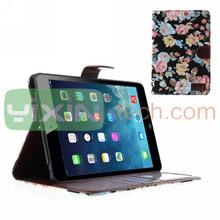 For iPad mini 2 Leather Case, For iPad mini 2 Flower Case, For iPad mini 2 Flip Case