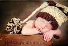 2014 New Stylish Christmas Style Free Handmade Baby Hat Crochet