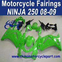Factory Direct Sales 08 09 08 09 For Kawasaki body kits Ninja 250 Orginal Green FFKKA001