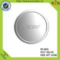 personalizado chapeamento de prata em branco e moedas