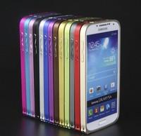 Luxury Ultra Thin Slim Fit Aluminum Frame Metal Bumper Case for Samsung Galaxy S3 I9300