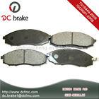semi-metallic disc brake pad no noise