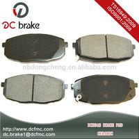 european car brake pads no noise