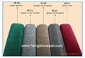 2014 100% nylon velluto rotoli, rullo di plastica di taglio