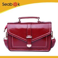 Fashion Quality Brand Leather weekend handbag for woman