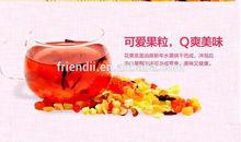 Lemon , blueberry, cherry,honey peach ,strawberry fruit flavred tea