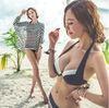 2014 hot sexy women in bathing suits Three-piece Bikini