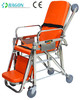 DW-SS003 Stainless Steel Folding Ambulance Stretcher for disabled