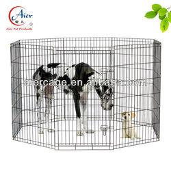 large metal pet dog playpen