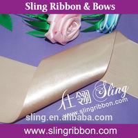 4 inch 100% Polyester Satin Ribbon