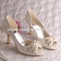 ( 13 colores) aliexpress blanco crema de zapatos para novia