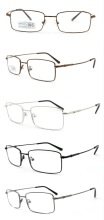 Adjustable nose pad full-rim metal memory optical frame ,fancy eyeglass frame,cadru optic