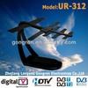 hd power tv antenna high quality digital indoor tv antenna model UR-312