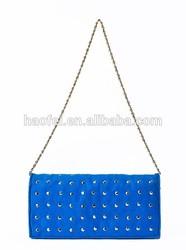 2014 Women's Felt Tote Bag Beach Bag Handbag Shoulder Bag Computer Case Messenger Bag (#2390 Blue)