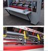 carton box thin blade slitter scorer machine with the production line