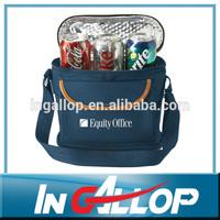 aluminum foil cotton canvas lunch bag insulated cooler bag