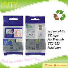 black clear printing waterproof labels