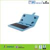 hot sale leather case keyboard for iPad mini