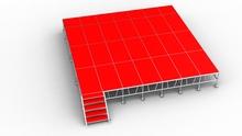 Foresight Aluminum Organic Plexiglass Stage/Mobile Stage/Aluminum Stage Deck