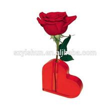 acrylic rose vase for decoration