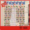 custom 100% thick cotton fabric curtains