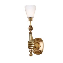 made in P.R.C. indoor brass color wall artistic lamps for hotel/home decor color schemes