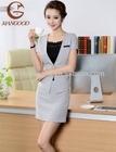 Formal Women Suit Designed Women Suit Cheap Women Suit off gray color with OEM