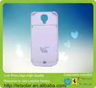 2014 Hot selling gracefull delicate and cabinet solar power bank 60kw solar panel for Samsung S5